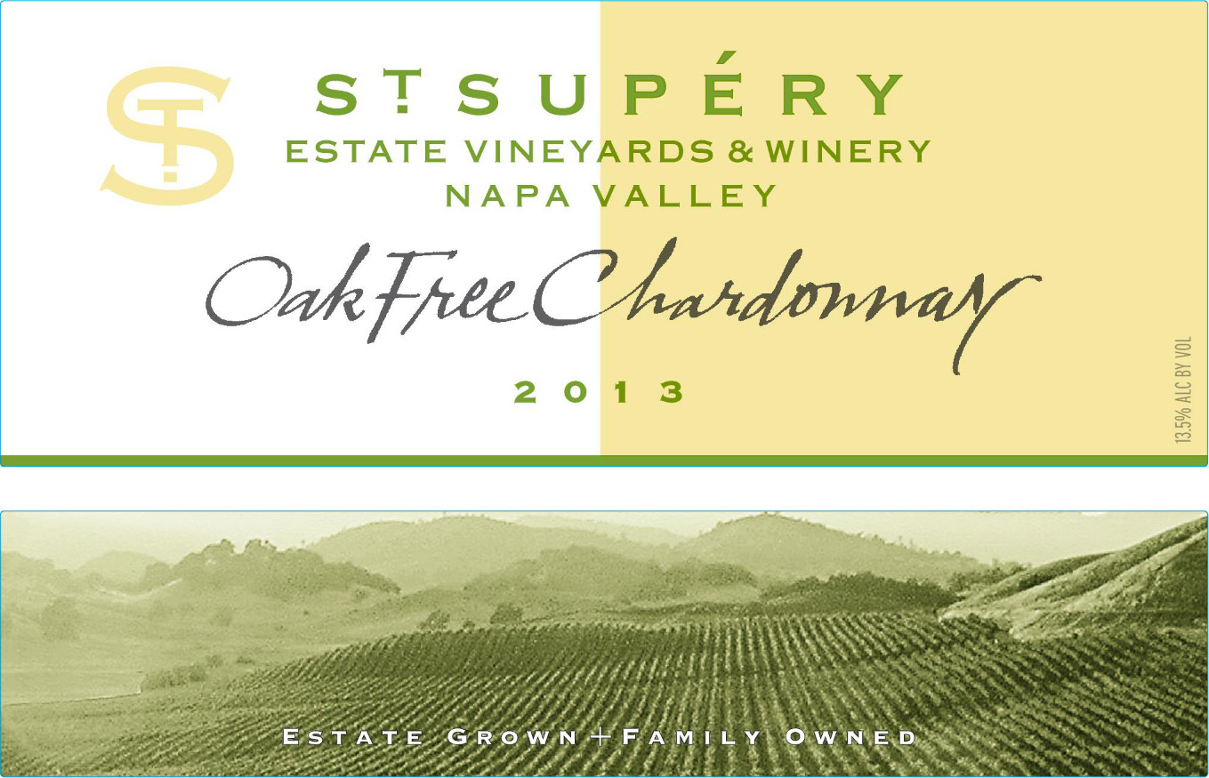 2013 st supery estate of chardonnay label Wine News